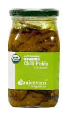 Organic Chilli Pickle 350 Gms