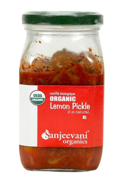 Organic Lemon Pickle 350 Gms