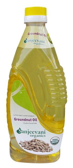Organic Groundnut Oil 1000 ml