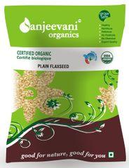 Organic Plain Flax Seed  100 Gms