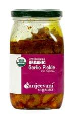 Organic Garlic Pickle 350 Gms
