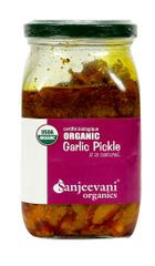 Organic Garlic Pickle 350 Gms