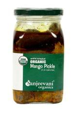 Organic Mango Pickle 350 Gms