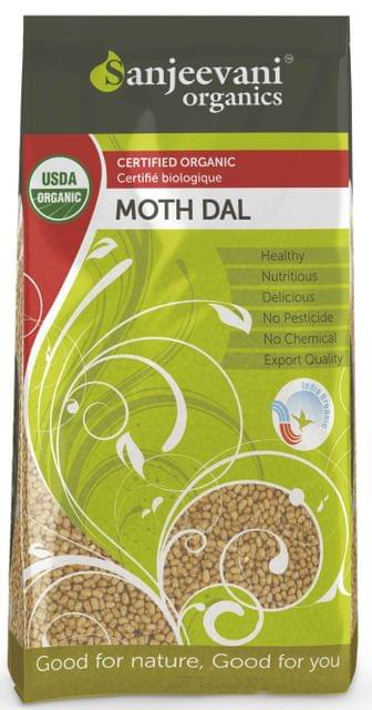 Organic Moth Dal 1000 Gms