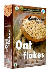 Organic Oat Flakes 250 Gms