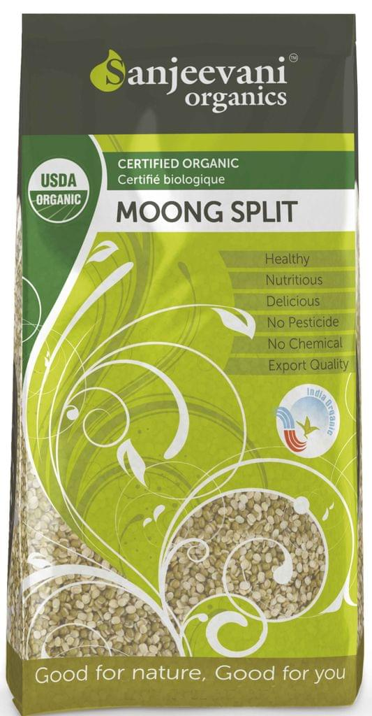 Organic Moong  Split 1000 Gms