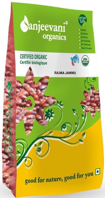 Organic Rajma Jammu 1000 Gms
