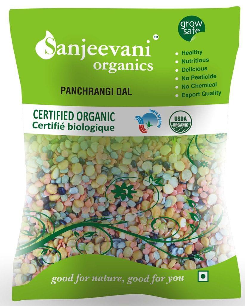 Organic Panchrangi Dal  500 Gms