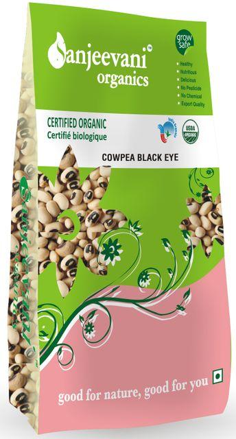 Organic Cowpea Black eye 1000 Gms