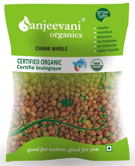 Organic Chana whole  500 Gms