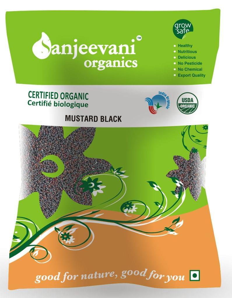 Organic Mustard Black 50 Gms