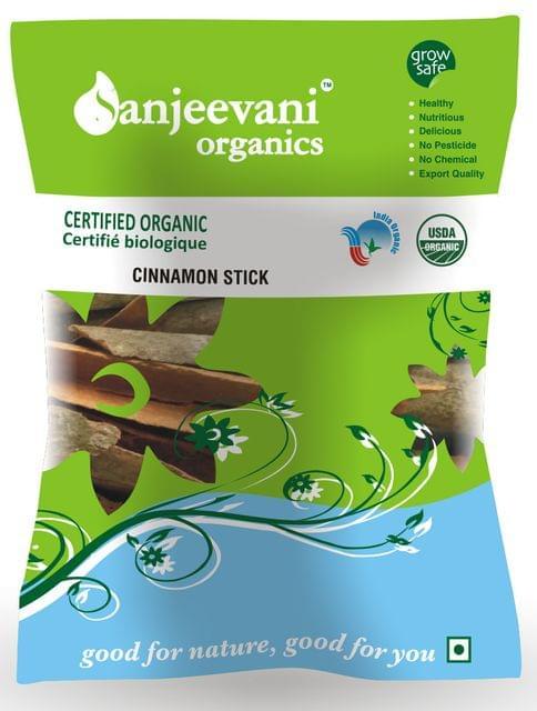 Organic Cinnamon Stick  (Dalchini) 50 Gms