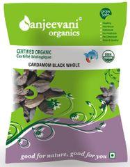 Organic Cardamom Black Whole 50 Gms