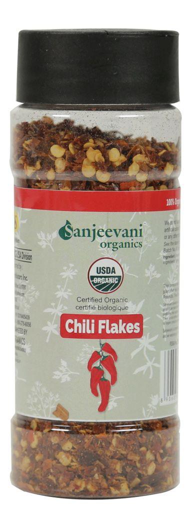 Organic Chili Flakes 60 Gms