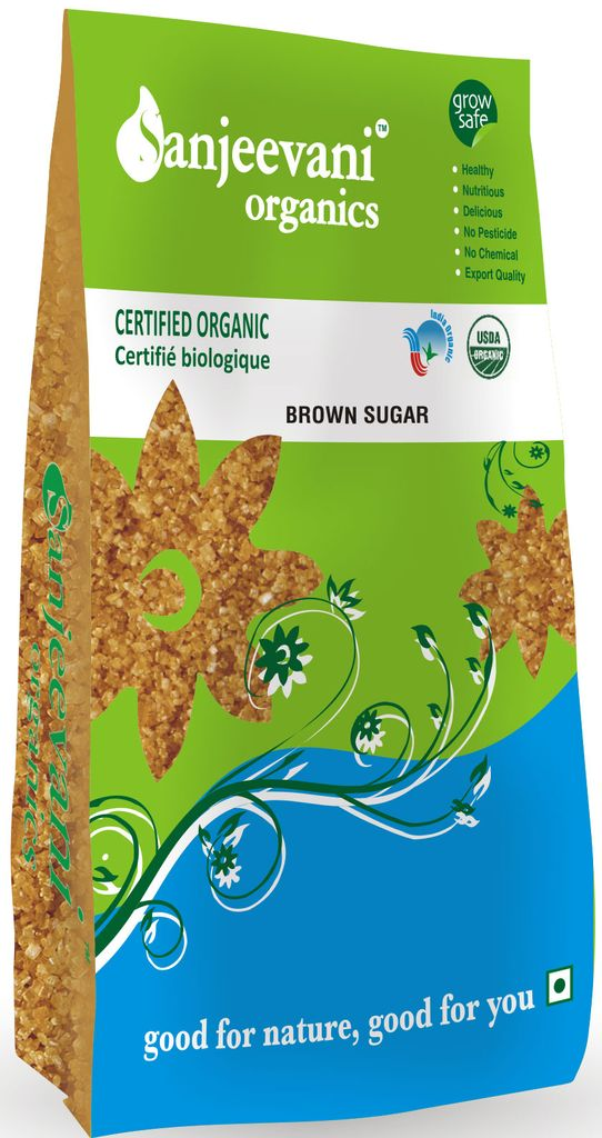 Organic Brown Sugar 1000 Gms