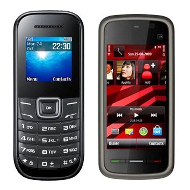 Guru E-1200 & 5233 Mobile