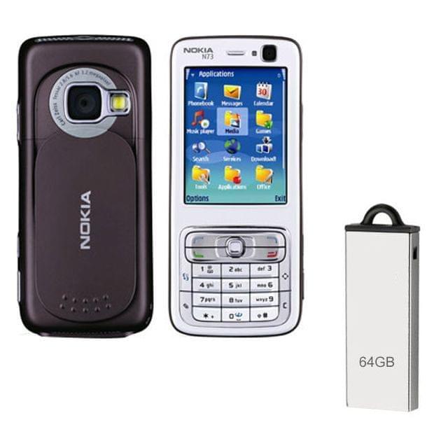 Buy Nokia N73 Mobile & 64GB Pendrive