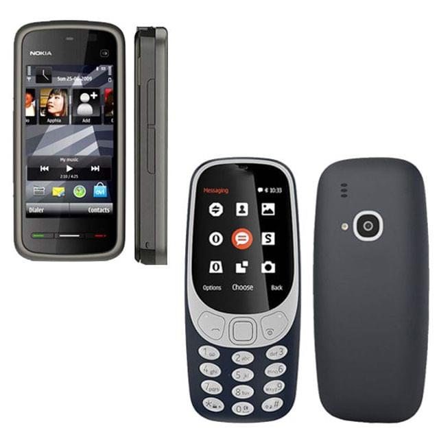 Buy Nokia 5233 and Model 3310 Mobiles