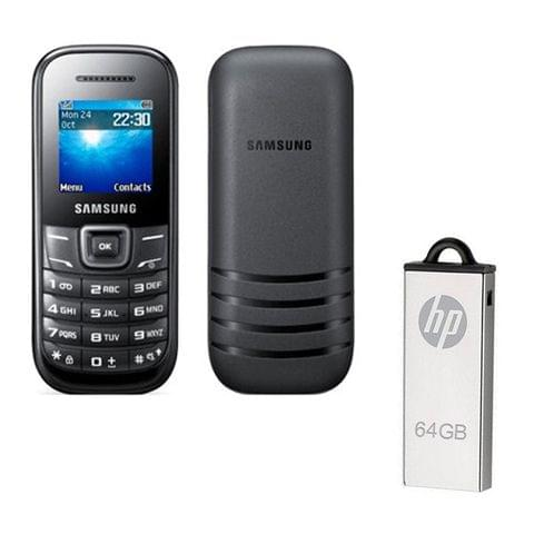 Buy Samsung Guru E1200Y & 64GB Pendrive