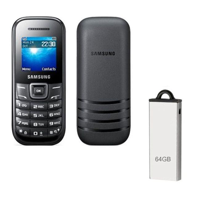 Buy Samsung Guru E1200Y & 64GB Pendrive
