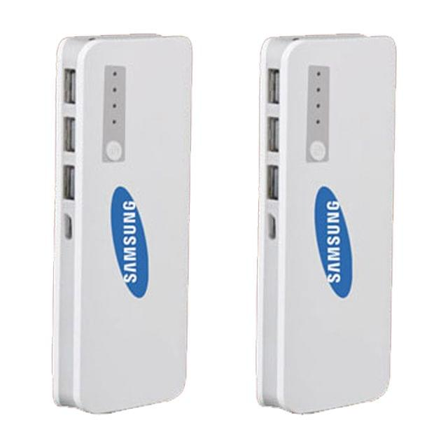 2 Samsung Powerbanks of 20800mAh