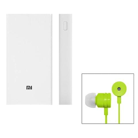 MI 20800mAh PowerBank & Earphones