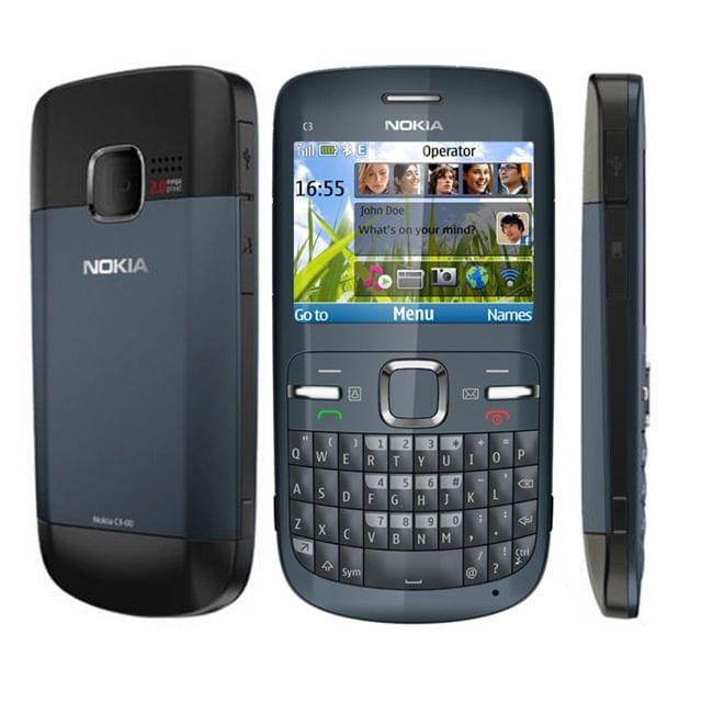 Nokia C3 Refurbished Mobile