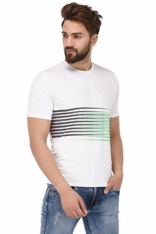Printed Round Neck T-Shirt_T00012