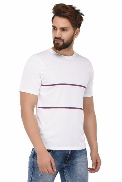 Printed Round Neck T-Shirt_T0002