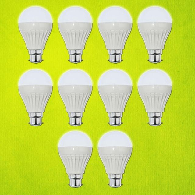7 Watt LED Bulb - 10 pcs