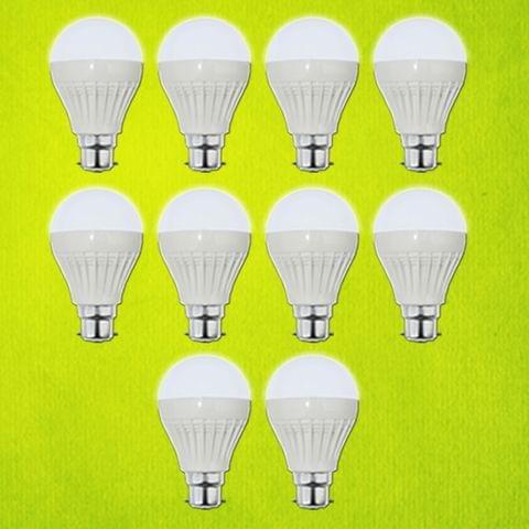 7 Watt LED Bulb - 10 pcs