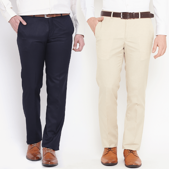 2 Cotton Trousers