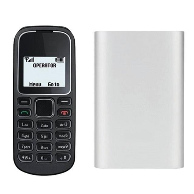 1280 Keypad Mobile and 16800 mAh Power Bank