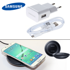 Samsung Wireless Charger and Travel Adapter
