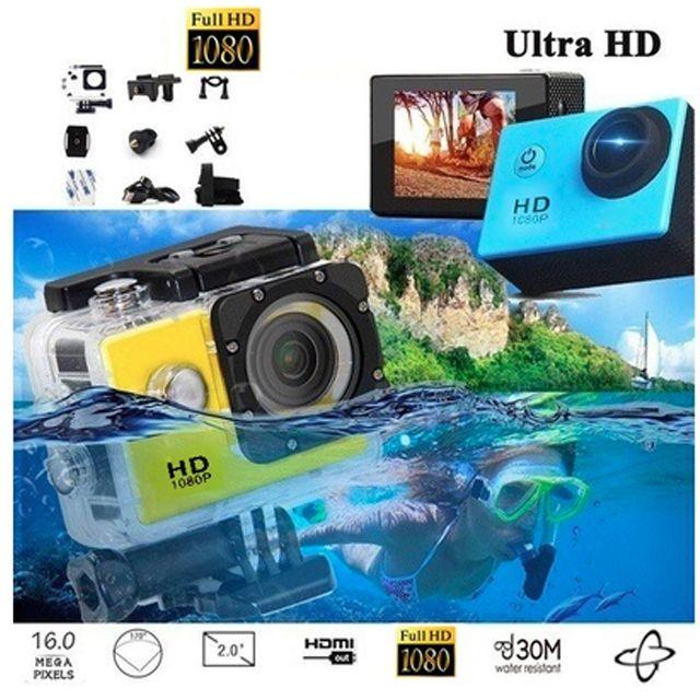 Ultra HD Action Sports Camera 1080p