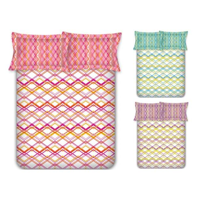 Raymond Cotton Double Bedsheet with 2 Pillow Covers