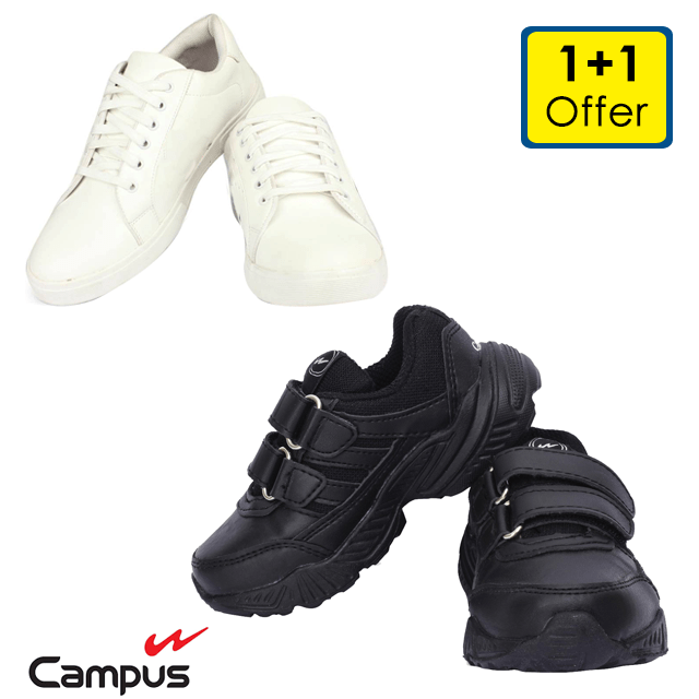 Campus Sports Shoes for Kids (1+1 Offer)