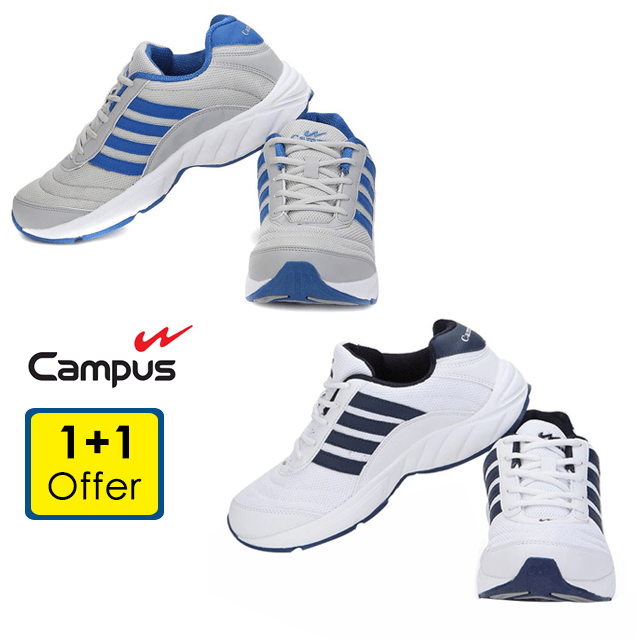 Action Men's Walking and Running Shoes (1+1 Offer)