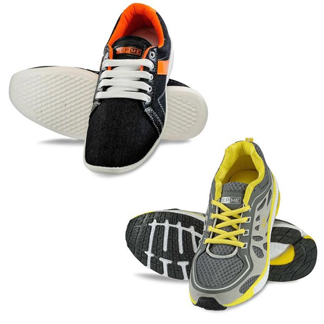 Shoe Mela - (Pair of 2 Casual Shoes)