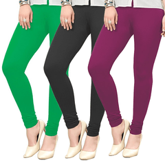 Leggings for Women Pack of 3