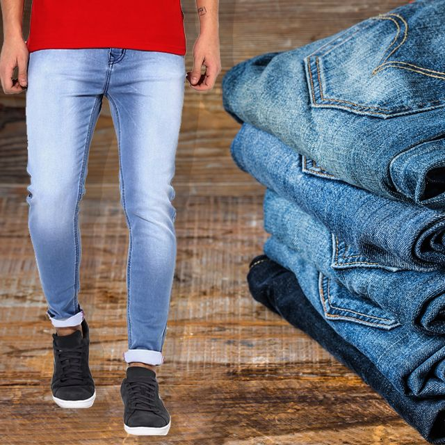 5 Men's Denim Jeans
