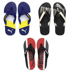 COMBO Pack of 3 PUMA Flip Flops