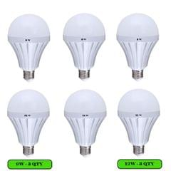 6 LED Bulbs