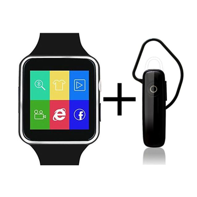 Shoyo X6 Smartwatch and Universal Bluetooth Headphone