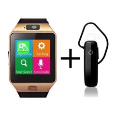 Shoyo DZ09 Smartwatch and Universal Bluetooth Headphone