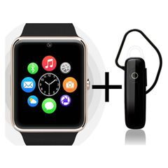 Shoyo GT08 Smartwatch and Universal Bluetooth Headphone
