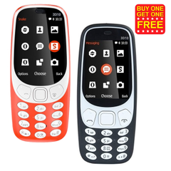 Nokia 3310 Refurbished Mobile (Buy 1 get 1 Free)