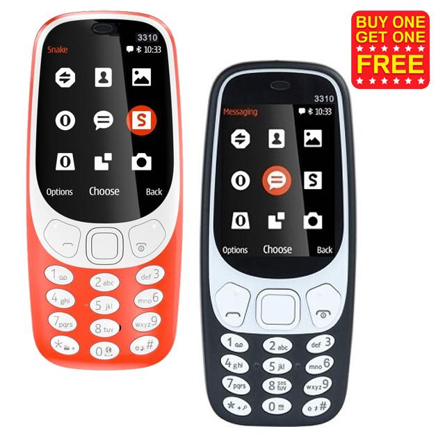 Nokia 3310 Refurbished Mobile (Buy 1 get 1 Free)