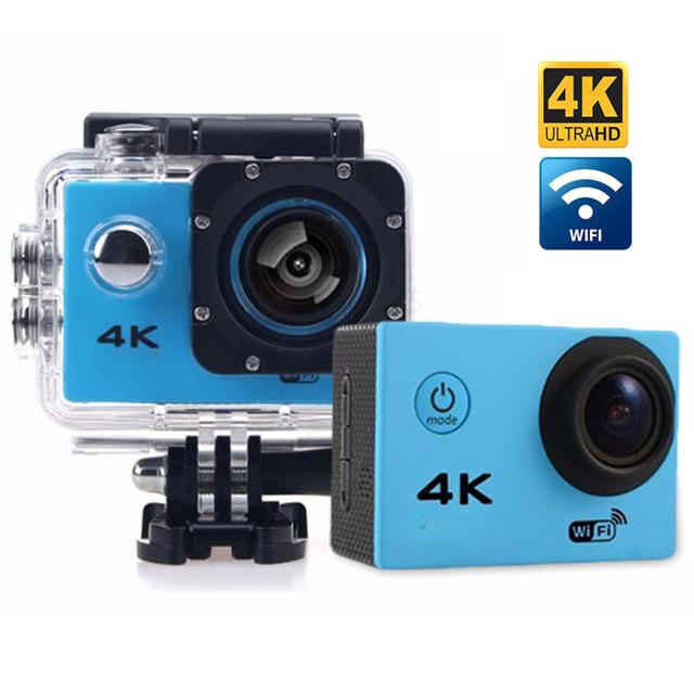4K Ultra HD Waterproof Sports Action Camera with Wi-Fi