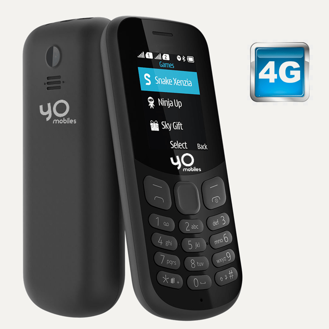 Yo Mobile Model 130 with 4G Support